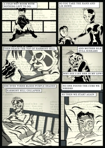Mother Silk page 2 - Comic Book Poems