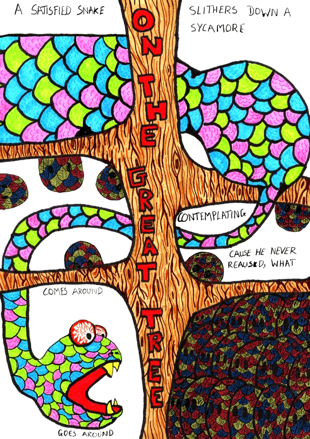The Wingless Bird On The Great Tree - page 2 - Comic Book Poem