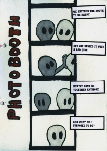 Photobooth - Comic Book Poem