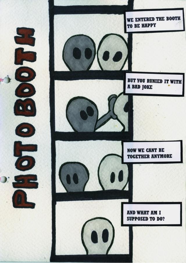 Photobooth - Comic Book Poem