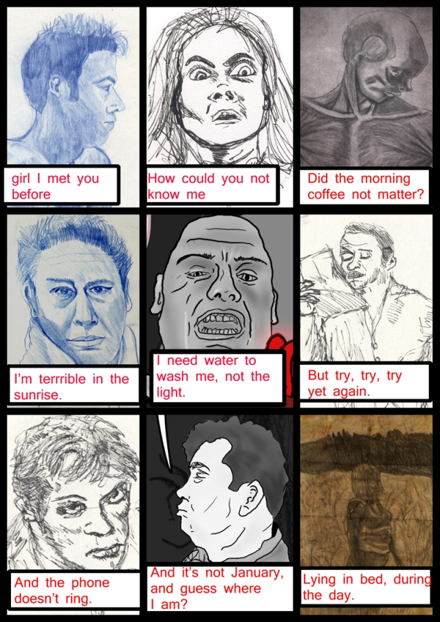Faces-Page2-Comic Book Poem