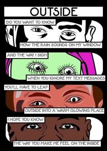 Outside - 1 - Comic Book Poems
