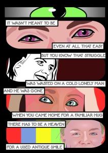 Outside - 2 - Comic Book Poems