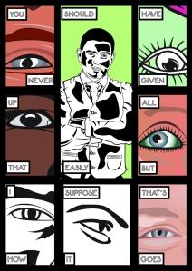 Outside - 3 - Comic Book Poems