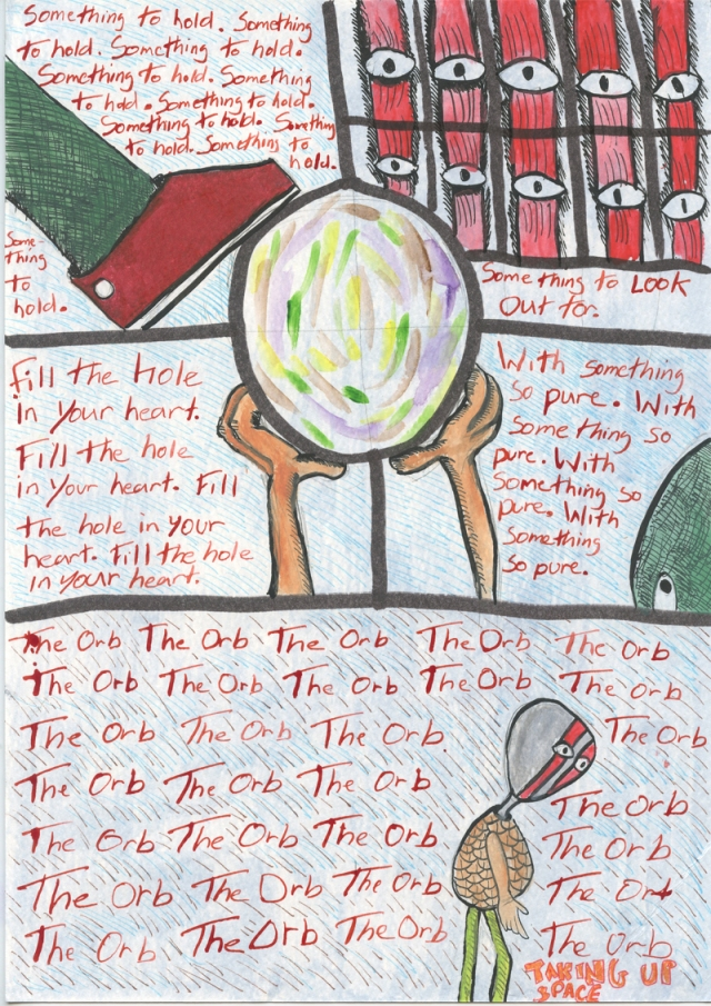 TheOrb - Page2- Comic Book Poem