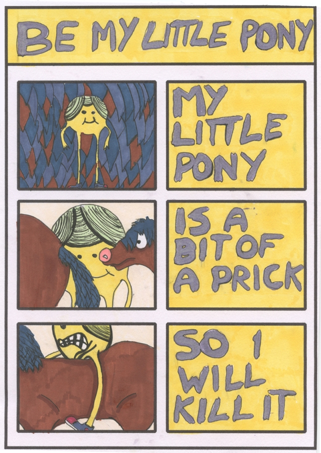 Be My Little Pony_ComicBookPoem