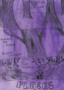 Places- Page 1- Comic Book Poem