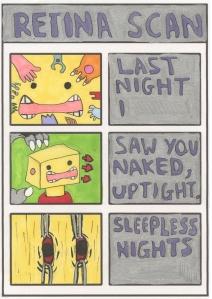 Retina_Scan- Comic Book Poems