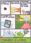 Thanks Claire - Page 4 - Comic Book Poems