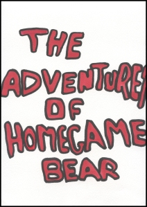 TheAdventuresofHomegameBear- Page 1- Comic Book Poem