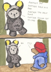 TheAdventuresofHomegameBear- Page 2 - Comic Book Poem