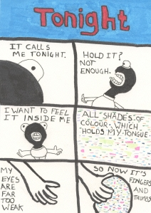 Tonight - Page 1 - Comic Book Poem